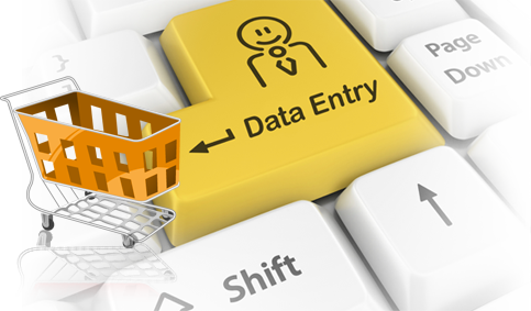 Product data entry services, ecommerce product data entry services
