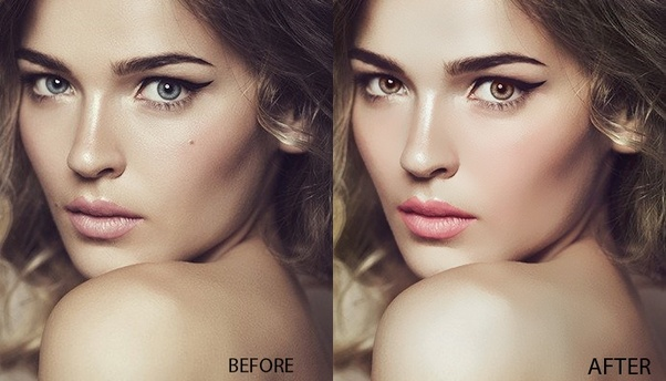 Models photo editing services